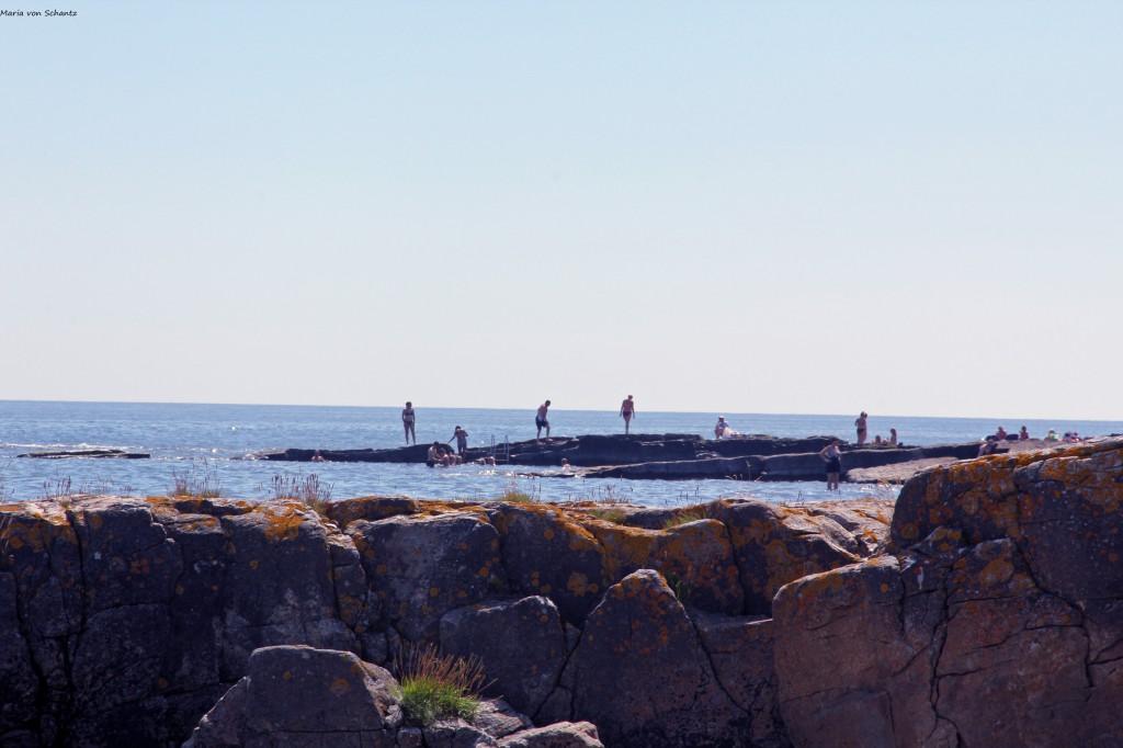 Brantervik klippor havet